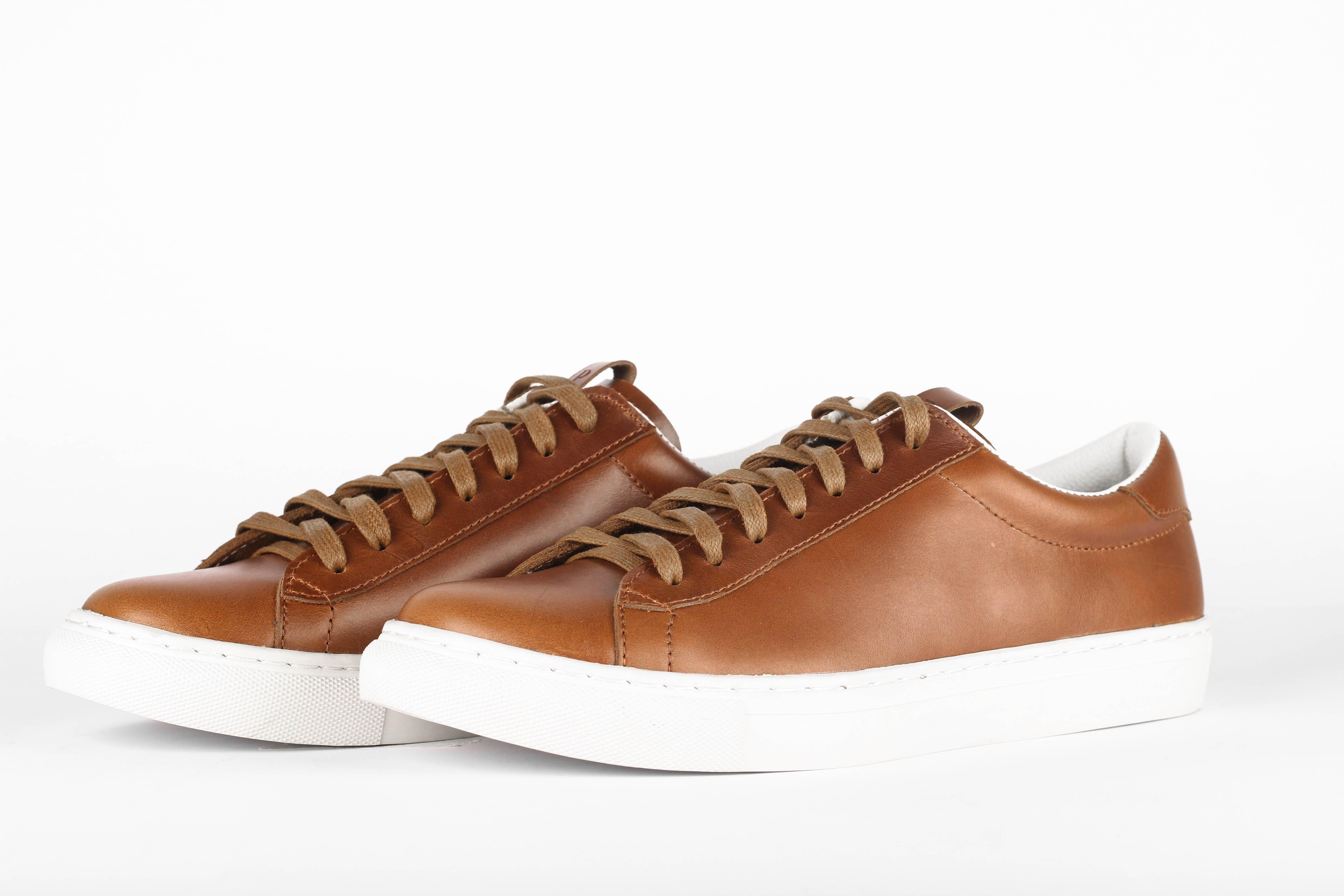 detailed look 4ac56 d2f5b Details zu Paradigm Shoes Herren Berlin Sneaker Italienisch Handgefertigte  Turnschuhe Amber